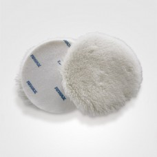Lambswool buffing pad Riwax® 75mm velcro single sided