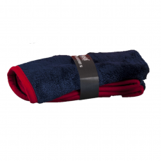 dark-blue microfibre cloth