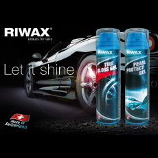 Riwax brand new products for tire care